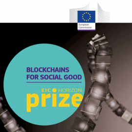 HealthService EU Horizon Prize Blockchain for social good - revolutionize medical treatment and european healthcare industry